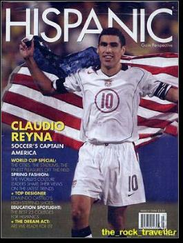 Claudio Reyna Interview You   Claudio Reyna Danielle Egan